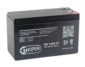 Аккумуляторная батарея 12V/9Ah Kiper HR-1290 (F2); 151x94x65 (ШхВхГ)-Kiper (Китай)