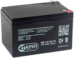 Аккумуляторная батарея 12V/12Ah Kiper HR-12120 (F2); 151x94x98 (ШхВхГ)-Kiper (Китай)