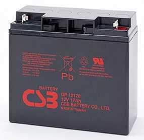 Аккумуляторная батарея 12V/17Ah CSB GP 12170; 181x167x76 (ШхВхГ)-CSB Battery (Вьетнам)