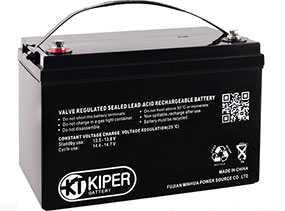 Аккумуляторная батарея 12V/230Ah Kiper GPL-122300; 520x220x269 (ШхВхГ)-Kiper (Китай)