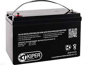 Аккумуляторная батарея 12V/250Ah Kiper GPL-122500; 520x203x269 (ШхВхГ)-Kiper (Китай)