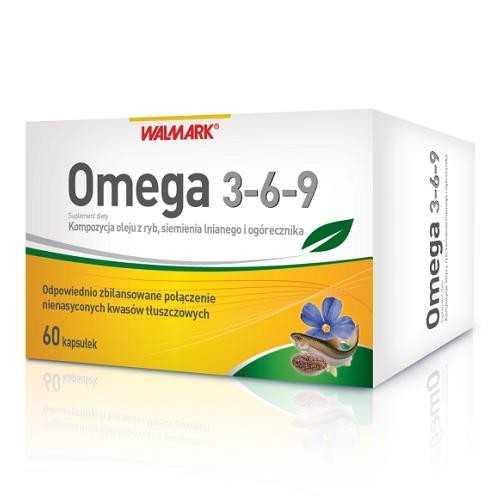Омега 3-6-9 60 капсул (Walmark)