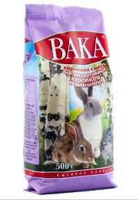 Корм Вака «ВК» д/шиншилл и декоративных кроликов