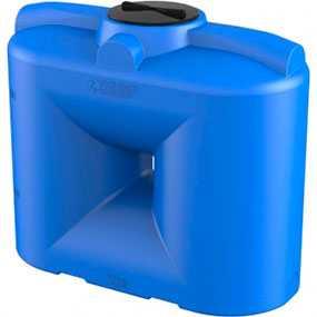 Бак S 500 литров пластиковый синий