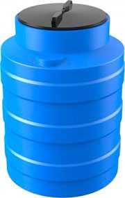 Емкость V 100 литров синяя