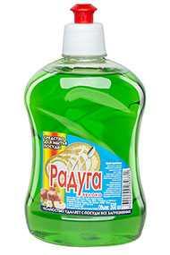 Средство для мытья посуды Радуга Яблоко, 500 мл (Россия)