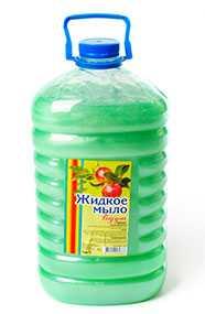 Мыло жидкое Радуга яблоко, перламутр, 5 л ПЭТ (Россия)