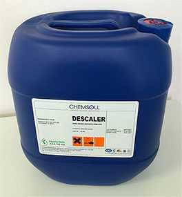 Средство для обработки поверхности металла Chemsoll METCLEAN-PR (жидкость)-30 л-Chemsoll (Турция)