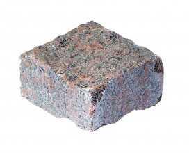 Брусчатка пилено-колотая 10*10*10 мм серая - Гродненский камнеобрабатывающий завод (Беларусь)