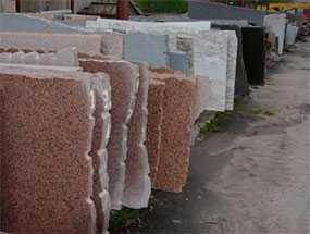 Слэбы из гранита-Гродненский камнеобрабатывающий завод (Беларусь)