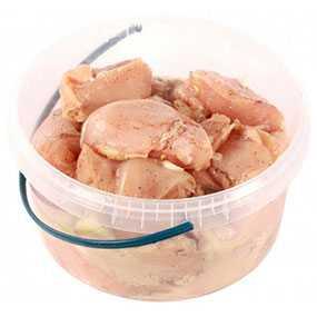Шашлык Сочный из мяса цыпленка-бройлера (0,85 кг/пласт. ведро ) - ГЛУБОКСКИЙ КОМБИКОРМОВЫЙ ЗАВОД (Беларусь)