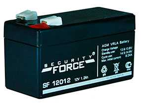 Аккумуляторная батарея 12V 1.2 Ah Security Force SF 12012-Security Force (Китай)