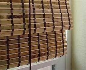 Жалюзи бамбуковые римская система (рулонные)