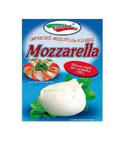 Сыр мягкий Моццарелла (один шарик) 50% жирности, 140 гр - ВИТЕРФУД (Беларусь)