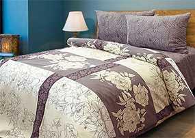 Ткань постельная Бязь Шабо (02) 2,2м - Блакит(Барановичи)