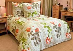 Ткань постельная Бязь Венеция (01) 2,2м - Блакит(Барановичи)
