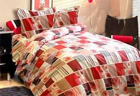Ткань постельная Бязь Прима (01) 2,2м - Блакит(Барановичи)