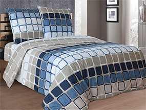 Ткань постельная Бязь Мажор (01) 2,2м - Блакит(Барановичи)