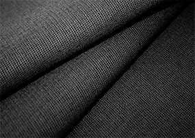 Ткань бязь гладкокрашеная черная 1,5 - Красная Талка (Россия)