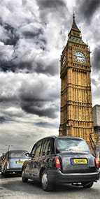 Декор (фотография) на закаленном стекле Big Ben, 50*100 см, INNOVA (Китай)