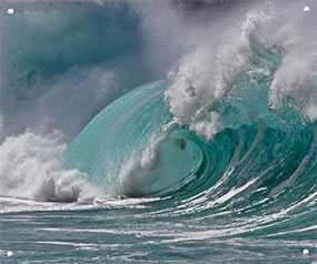 Декор (фотография) на закаленном стекле Big Surf, 100*120 см, INNOVA (Китай)