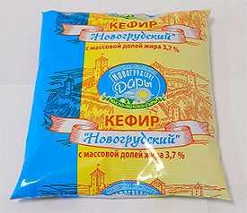 Кефир Новогрудский 3,7% Молочная компания Новогрудские Дары