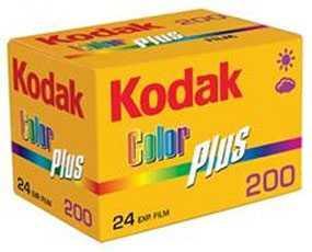 Фотопленка Kodak Color Plus 200, 24 кадра, Kodak (США)