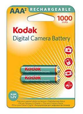 Аккумулятор Kodak K3ARDC-2, тип ААА, 1000mAh, Kodak (Китай)