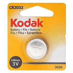 Батарейка Kodak KCR 2032-1 кнопочная, Kodak (Китай)