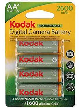 Аккумулятор Kodak KAARDC-4, 2600мАч, Kodak (Китай)