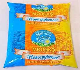 Молоко Новогрудское м.д.ж. 3,7% Молочная компания Новогрудские Дары