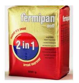 Дрожжи FERMIPAN-ФЕРМИПАН СОФТ 2 в 1 упаковка 500 гр