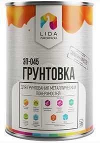 Грунтовка ЭП-045 К, 1л - ЛАКОКРАСКА (Беларусь)