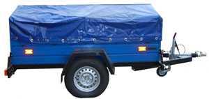 Прицеп грузовой БЕЛАЗ 8101 к легковым автомобилям ТУ BY 600038906.124-2009 - БЕЛАЗ