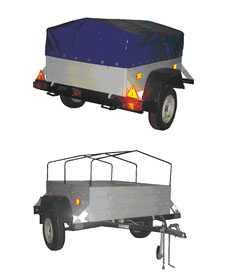 Прицеп грузовой БЕЛАЗ 8113 к легковым автомобилям ТУ BY 600038906.120-2012 - БЕЛАЗ