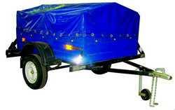 Прицеп грузовой БЕЛАЗ 8115 к легковым автомобилям ТУ BY 600038906.122-2012 - БЕЛАЗ