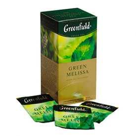 Чай зеленый GREENFIELD Green Melissa 25 пак./упак - GREENFIELD (Россия)