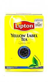 Чай черный крупнолистовой LIPTON Yellow Label 100г -LIPTON (Россия)