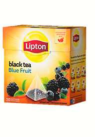 Чай фруктовый LIPTON Blue Fruit Tea 20 пирамидок/упак - LIPTON (Россия)
