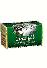Чай черный ГринФилд Earl grey fantasy 25 пак./упак -GREENFIELD (Россия)