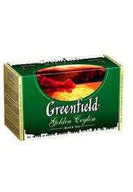 Чай черный ГринФилд Golden Ceylon 25 пак./упак -GREENFIELD (Россия)
