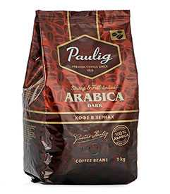 Кофе в зернах PAULIG Arabica Dark 1кг - PAULIG (Россия)