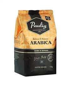 Кофе в зернах PAULIG Arabica 1кг - PAULIG (Россия)