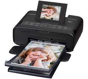 Принтер струйный Canon SELPHY CP1200 (черный) - CANON (Япония)
