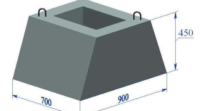 Фундамент стаканного типа Ф 9.7.5 - ОСИПОВИЧСКИЙ ЗАВОД ЖЕЛЕЗОБЕТОННЫХ КОНСТРУКЦИЙ