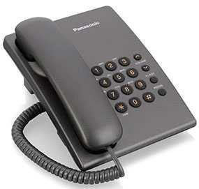 Телефон Panasonic KX-TS2350RUT - PANASONIC (Япония)
