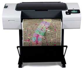 Плоттер HP Designjet T790 24in PS ePrinter CR648A - HP (США)