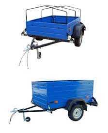 Прицеп грузовой БЕЛАЗ 8124 к легковым автомобилям ТУ BY 600038906.121-2008 - БЕЛАЗ