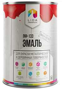 Эмаль ПФ-133, 1л - ЛАКОКРАСКА (Беларусь)