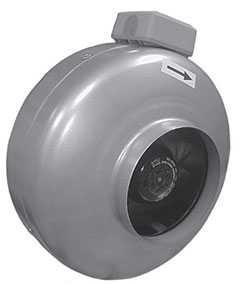 Вентилятор круглый канальный ВКК 100 - Лиссант